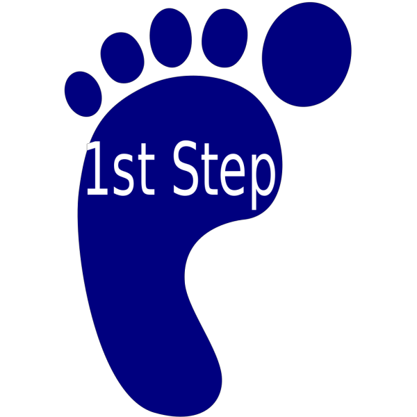 First Step PNG images