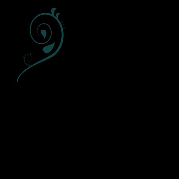 Single Blue Curve PNG Clip art