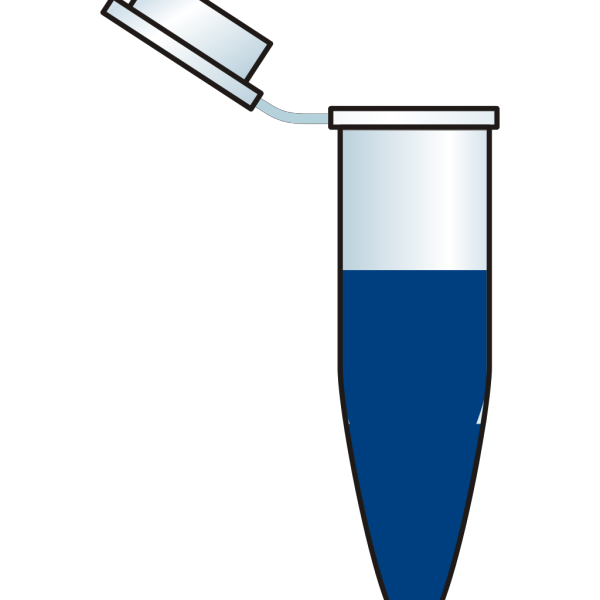 Eppendorf Tube With Serum PNG Clip art