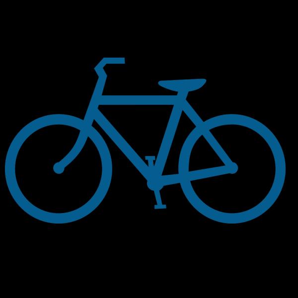 Bike Blue PNG Clip art