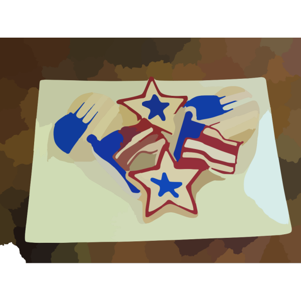 Fourth Of July Cookies PNG images