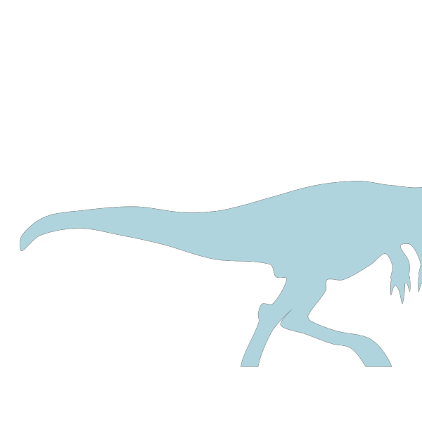 Light Blue Dinosaur PNG Clip art