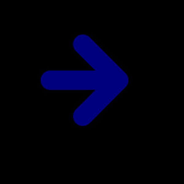 Dark Blue Arrow PNG Clip art