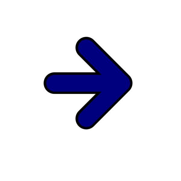 Very Dark Blue Arrow PNG Clip art