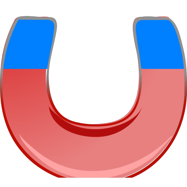 Blue Magnet PNG Clip art