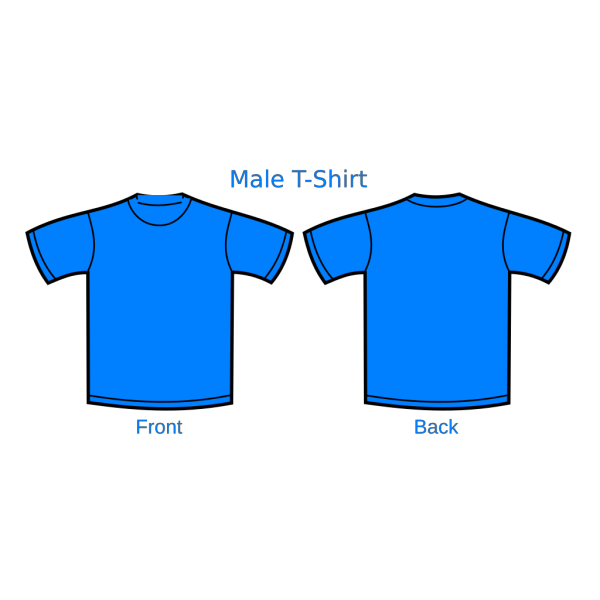 Blue Uitm Shirt PNG Clip art