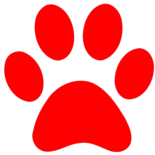 Blues Clues Red Paw PNG Clip art