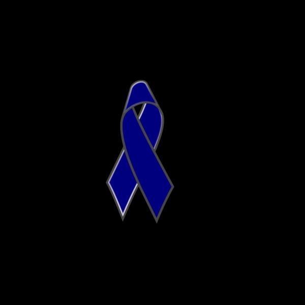 Dark Blueu Ribbon PNG Clip art