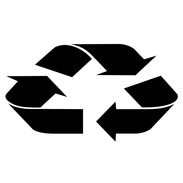 Blue Recycle Arrows PNG Clip art