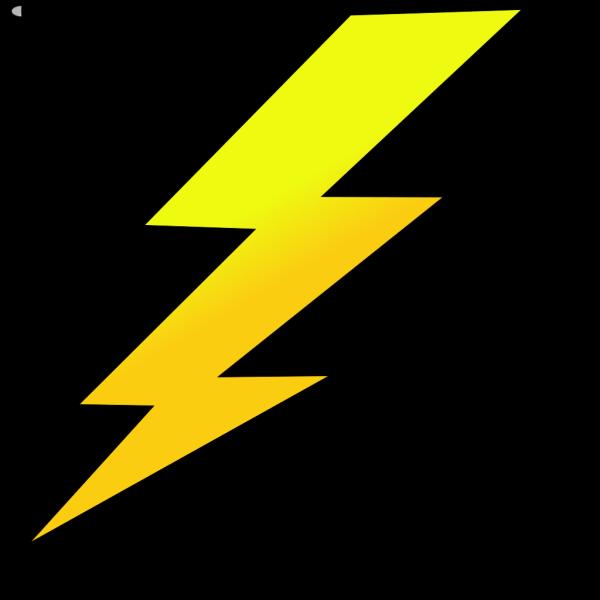 Lightening Bolt PNG Clip art