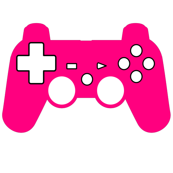 Play Station Controller Silhouette PNG Clip art