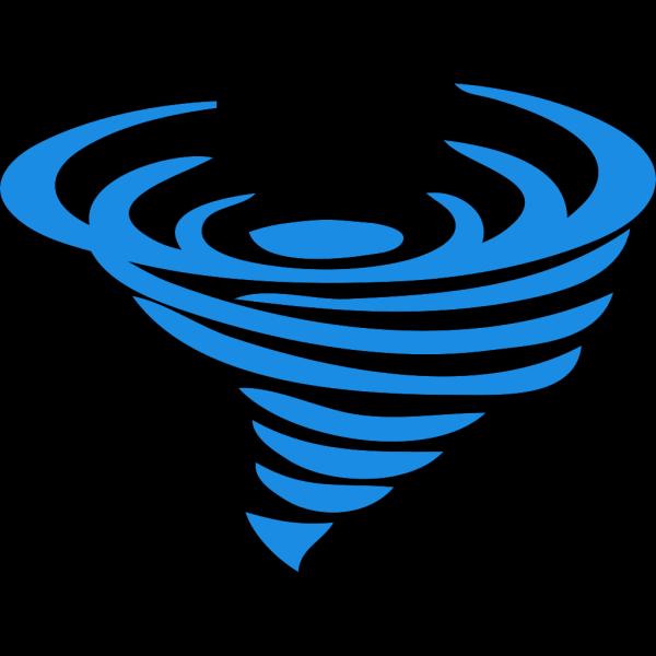 Blue Wind Logo Tp PNG Clip art