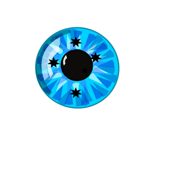 Stars Eyes Representing The Sky And The Univerese All Around. PNG Clip art