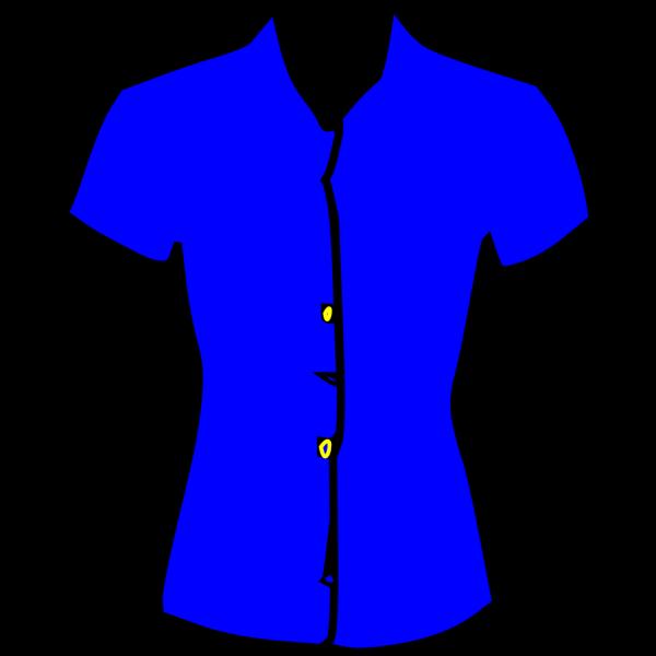 Blue Blouse PNG clipart