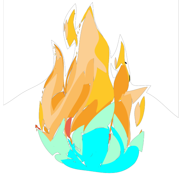 Fire And Ice PNG Clip art