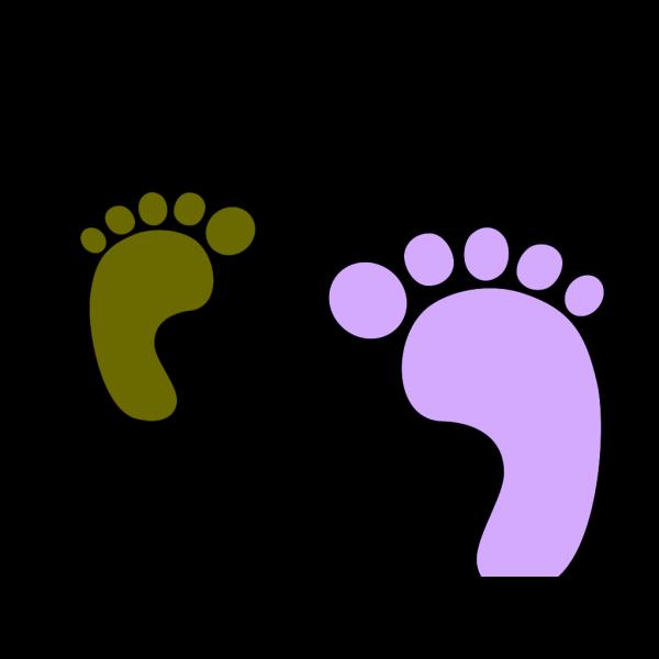 Baby Feet - Blue PNG Clip art