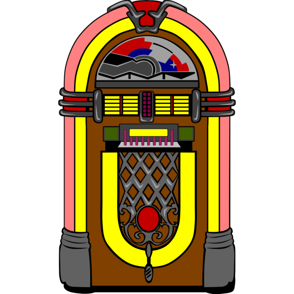 American Jukebox PNG Clip art