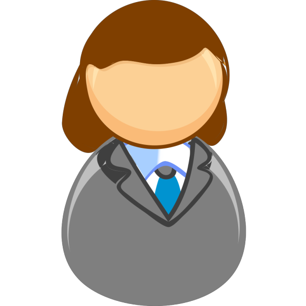 Middle Age Lady PNG Clip art