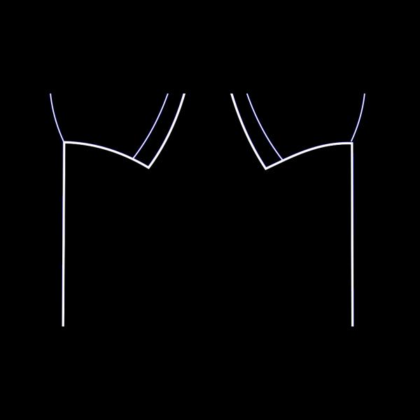 Blue Shirt Template PNG Clip art