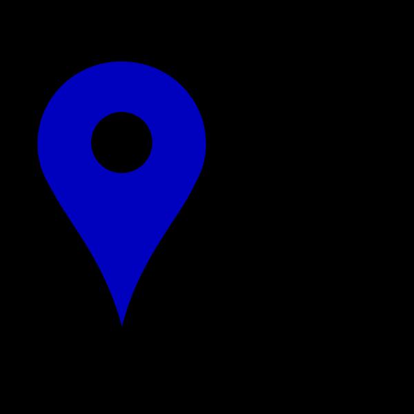 Dark Dark Blue Pin PNG Clip art