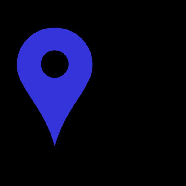 Dark Blue Pin PNG Clip art