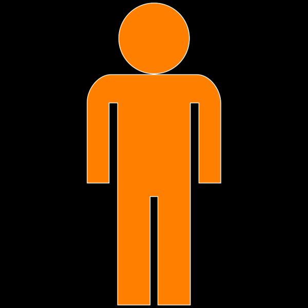 Man Symbol Blue PNG Clip art