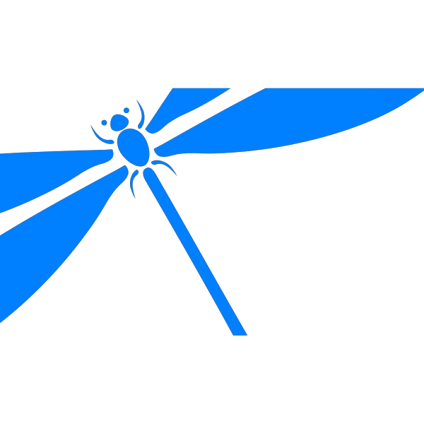 Dragonfly In Flight PNG Clip art