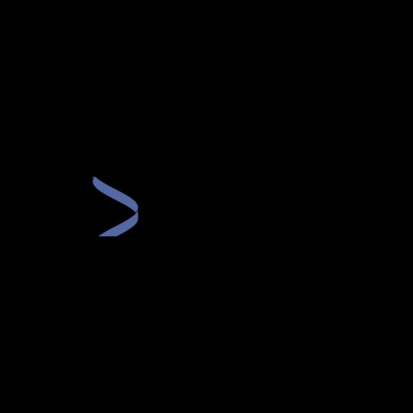 Vertical Helix Blue PNG Clip art