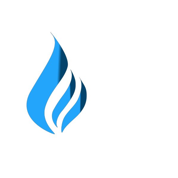 Blue Flame (tighter) PNG Clip art