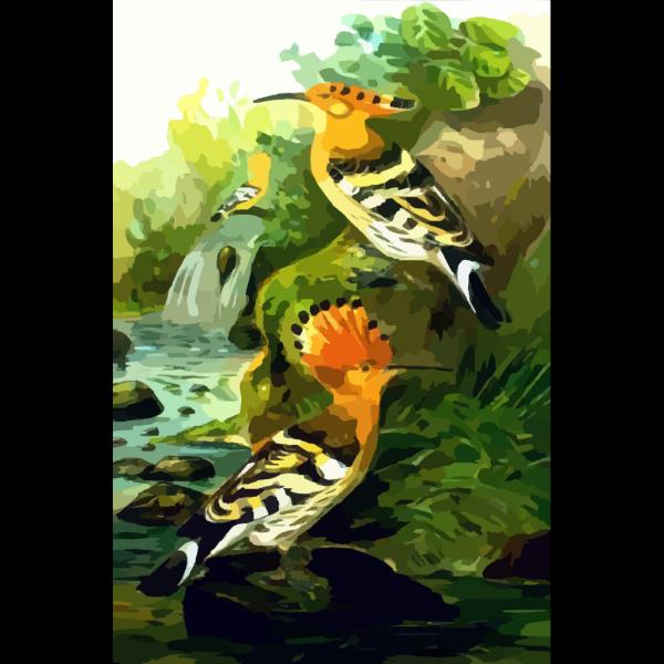 Hoopoe PNG Clip art