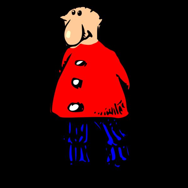 Man Standing PNG Clip art