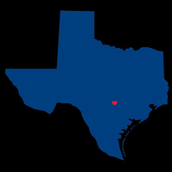 I Heart Texas PNG Clip art