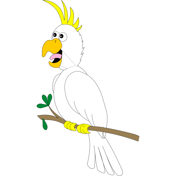 Cartoon Parrot PNG images