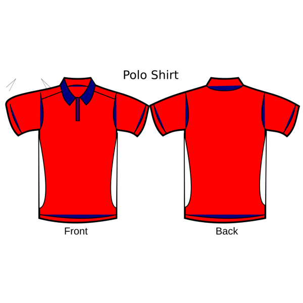 Polo Template 5s Lubetech Shirt PNG Clip art