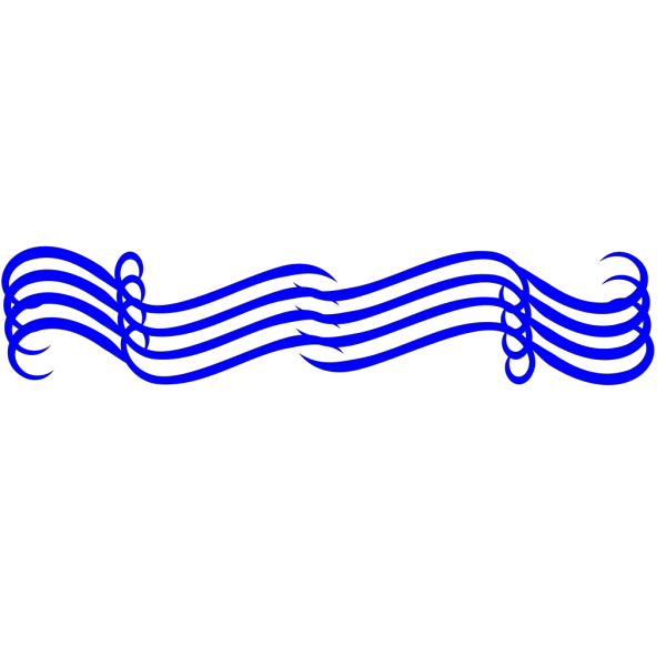 Big Blue Divider PNG icon