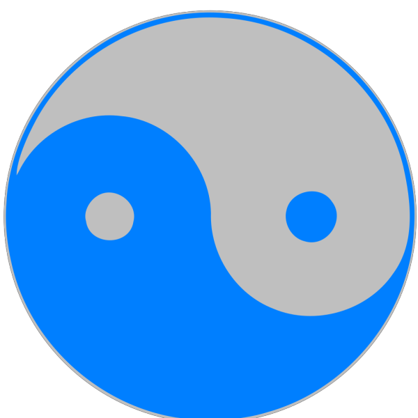 Blue Silver PNG Clip art