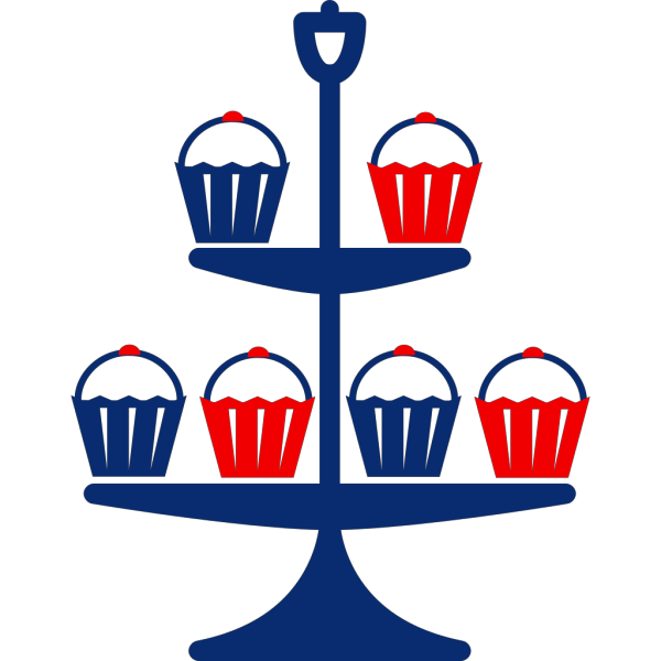 Cup Cake Stand PNG images