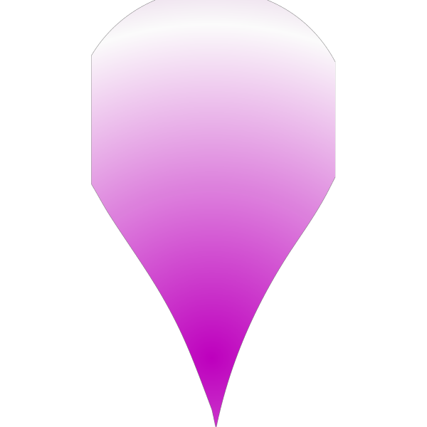 Pin Point Location Marker Purple PNG Clip art