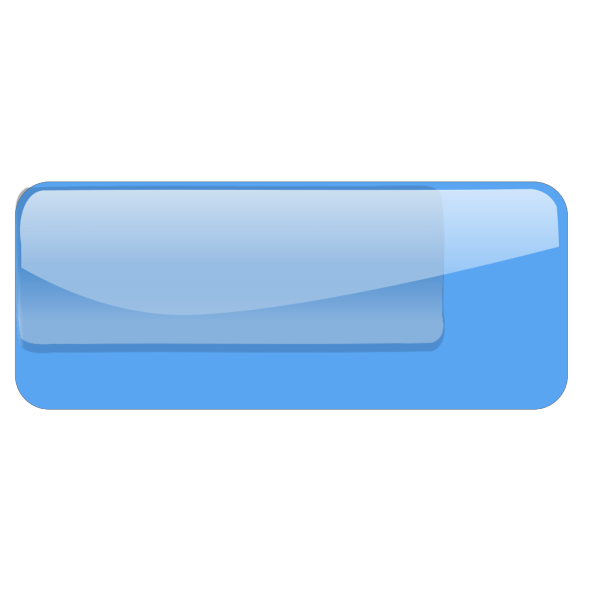 Blue Glossy Rounded PNG Clip art