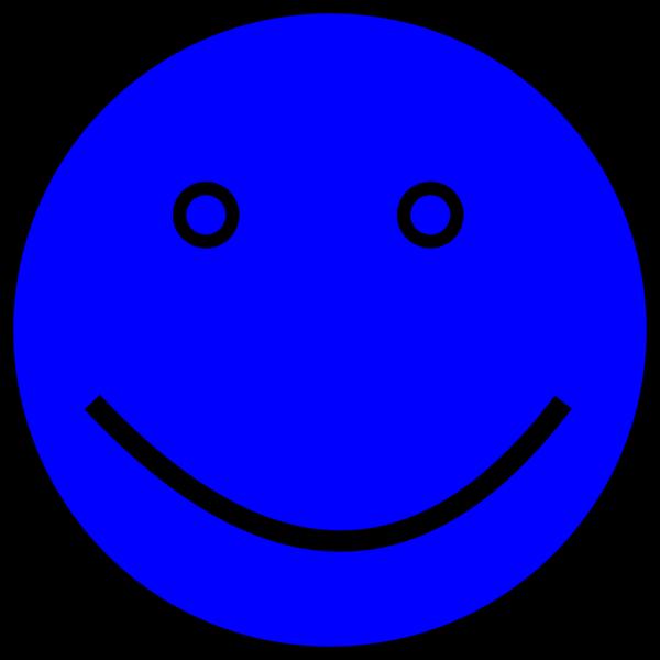 Blue Face PNG Clip art