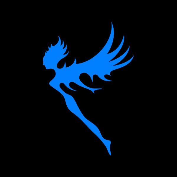 Blue Fairy PNG Clip art