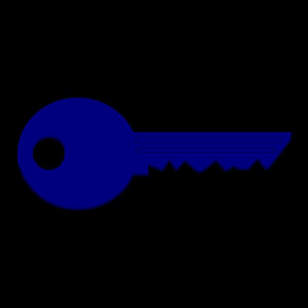 Key Blue PNG Clip art