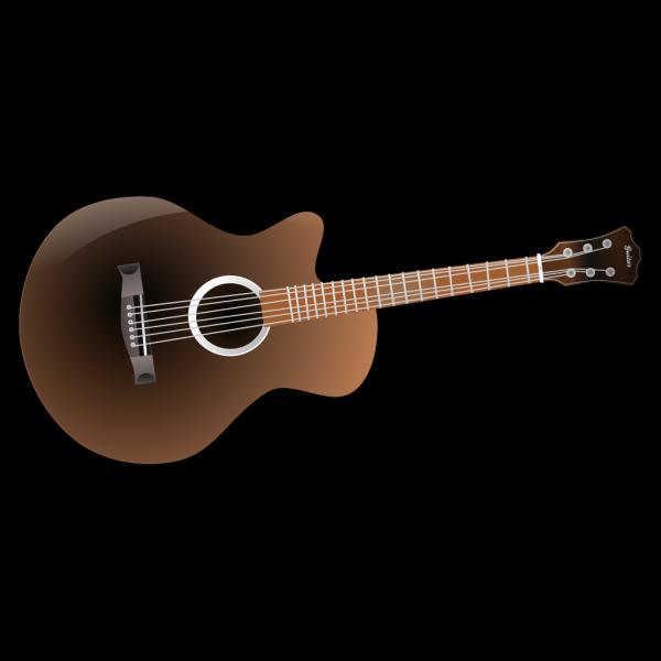 Blue Guitar PNG clipart