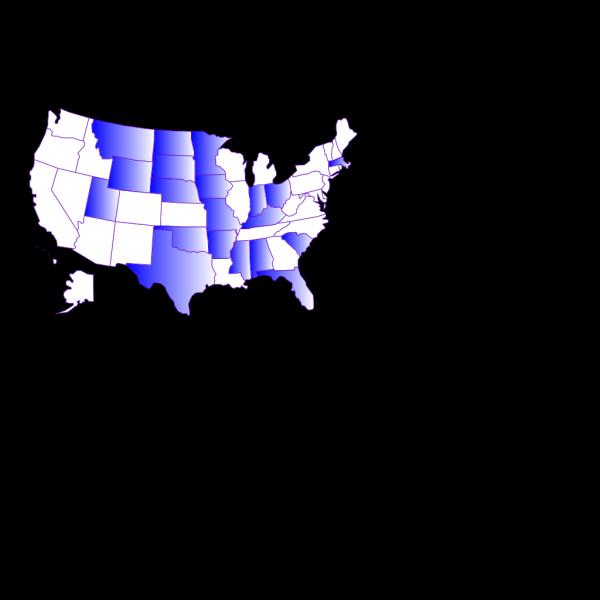 50after40 Marathon States Completed PNG Clip art