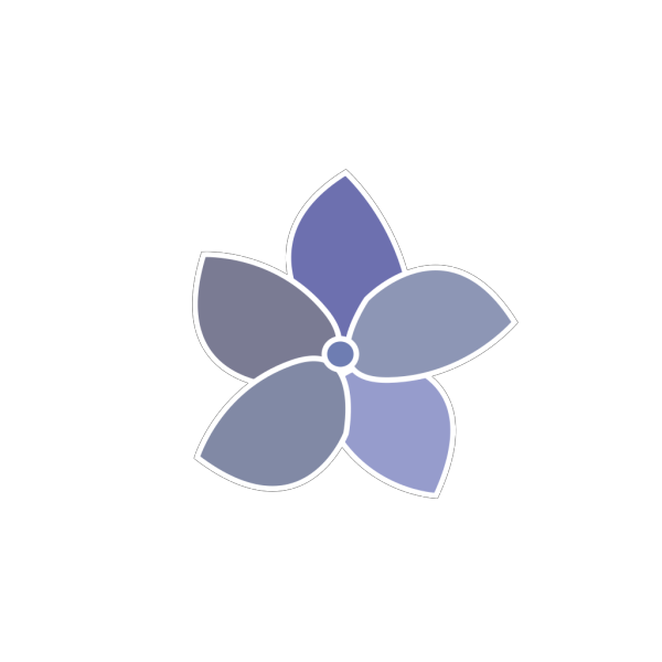 Hydrangea Flower Varied PNG Clip art