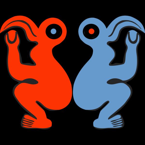 Eastern Island Bird Man PNG Clip art