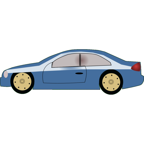 Blue Auto (green Background) PNG Clip art