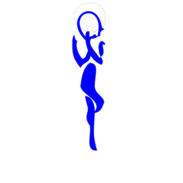 Person-blue2 PNG Clip art