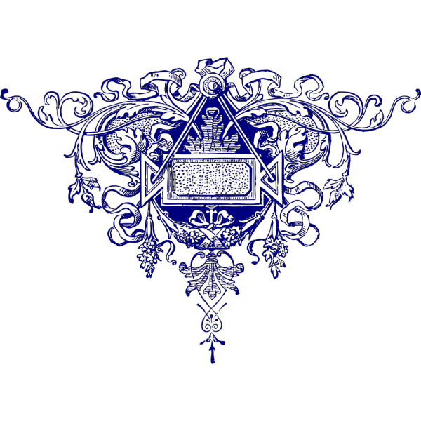 Fancy Flourish Slate PNG Clip art