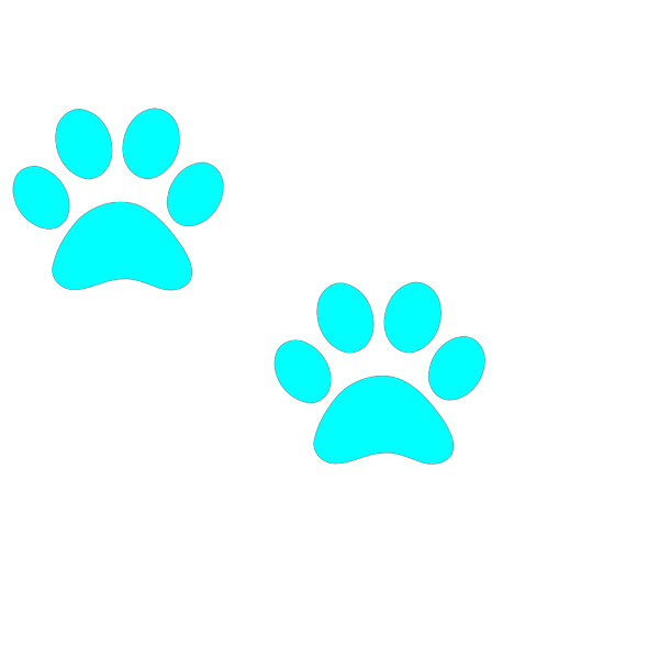 Puppy Paw Print PNG Clip art